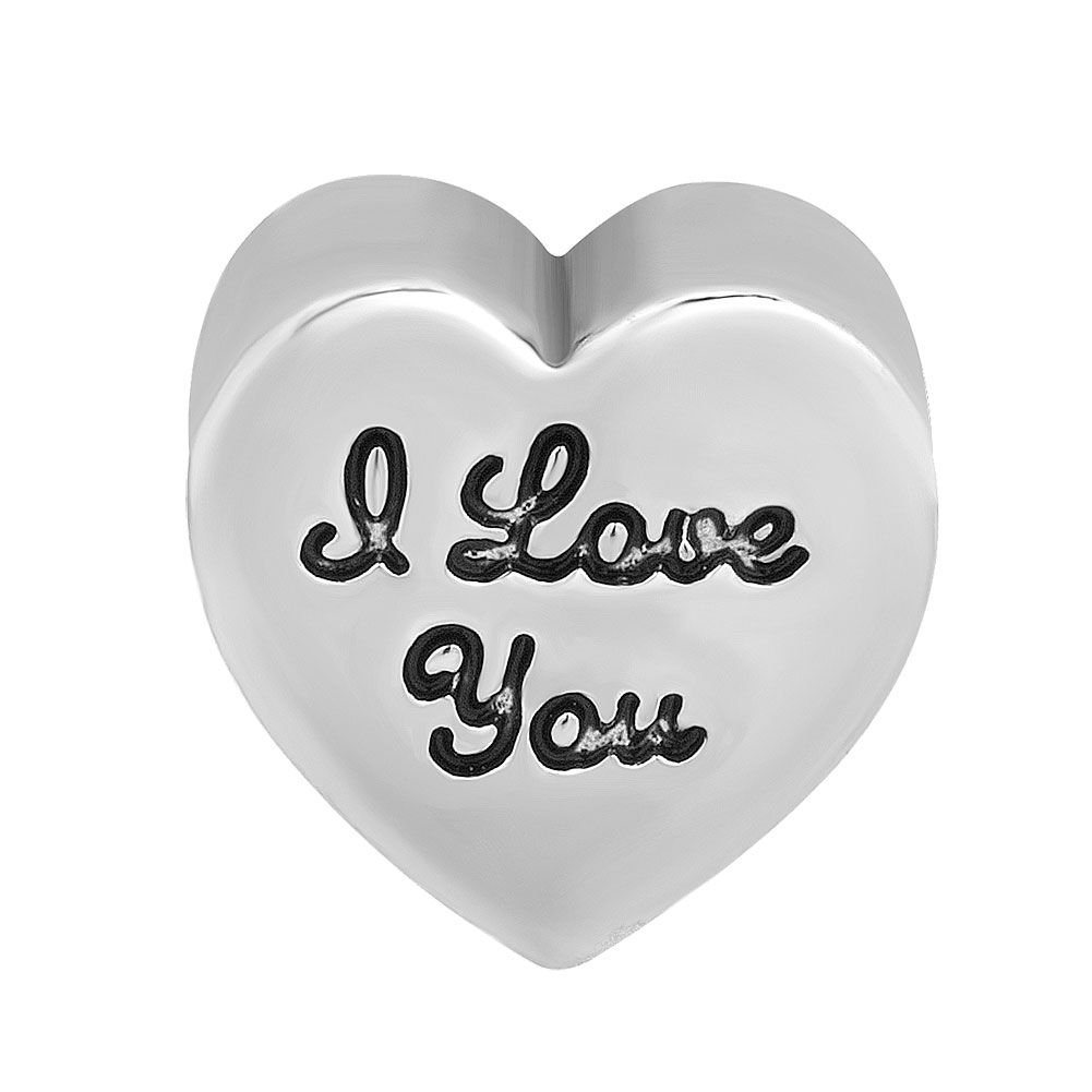 DemiJewelry-I-Love-You-Heart-Gold-Plated-Charms-fit-Charm-Bracelet
