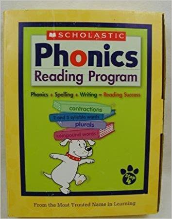 Scholastic At-Home Phonics Reading Program (Box Set Step 4) (Workbooks 13-16) PDF
