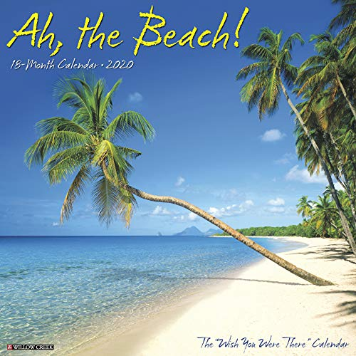 Ah The Beach! 2020 Wall Calendar