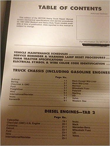 Heavy truck repair manual motor heavy truck repair manual john heavy truck repair manual motor heavy truck repair manual john lypen 9781582511276 amazon books fandeluxe Choice Image