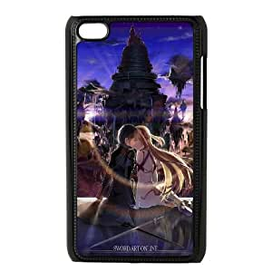 Sword Art Online iPod Touch 4 Case Black Wkfhr