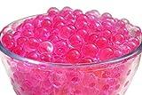 "designer home decor SHEING Decoration Vase Filler - Transparent Reuseable Water Beads Gel - 11 Colors - Almost 5000PCS per pack,YOU are the ""designer"" !!! (hot pink)"
