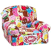 Kidrobot Yummy World Allover Characters Plush Chair