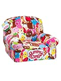 Product review for Kidrobot Yummy World Allover Characters Plush Chair