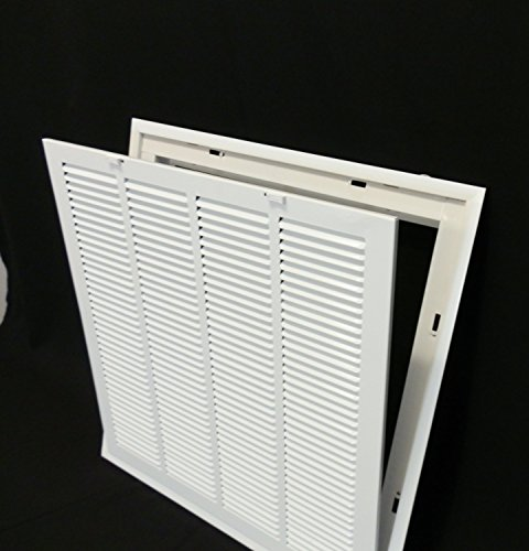 24 14 Air Return : Quot steel return air filter grille for