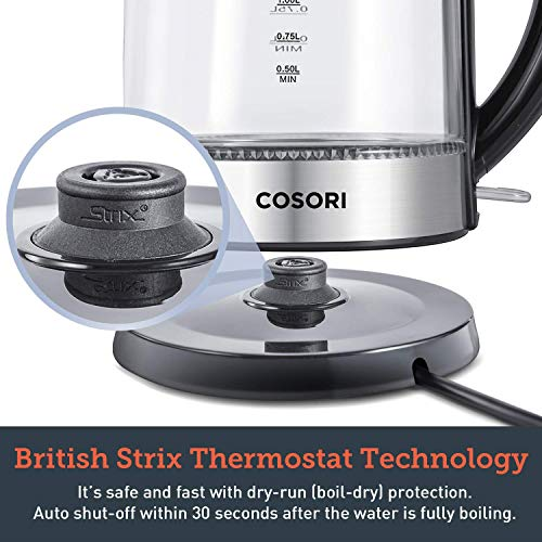 COSORI 1.7L Electric Kettle(BPA-...