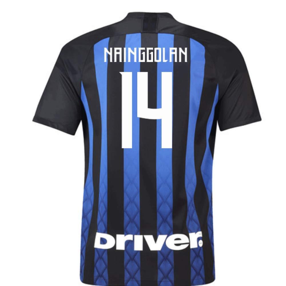 2018-19 Inter Milan Home Football Soccer T-Shirt Trikot (Radja Nainggolan 14) - Kids