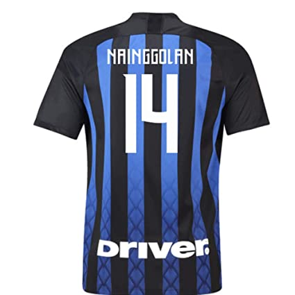 huge selection of 7c959 d804c Amazon.com : 2018-19 Inter Milan Home Football Soccer T ...