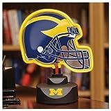 Best Wolverine Desk Lamps - University of Michigan Wolverines Neon Helmet Lamp Review