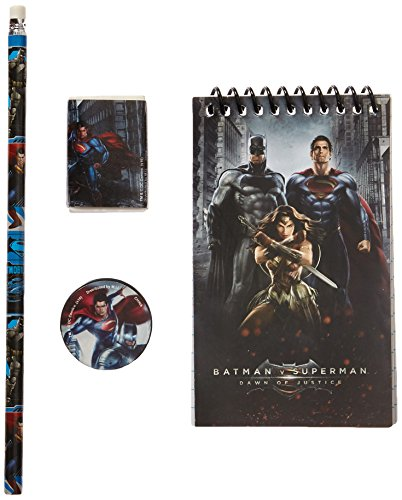 Batman vs Superman Study Kit 4pc [Contains 4 Manufacturer Retail Unit(s) Per SKU# 45521MZ -