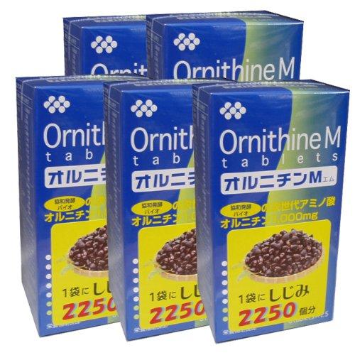 協和発酵オルニチンM (6粒×25袋)×5個セット B006ZG7FYC