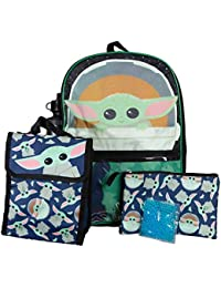 """Kids Mandalorian""""The Child"""" Backpack and Lunch Box Set"""