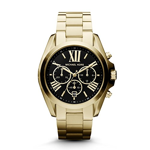 b844eaca97c2 Michael Kors Women s Bradshaw Gold-Tone Watch MK5739