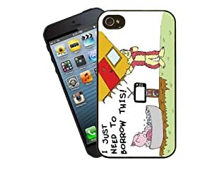 Eclipse Gift Ideas The Monster Who Liked To Eat Toes' By Dave Haddock, The Author Of The Childrens - iPhone 5 / 5s Case Cover