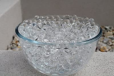 "SHEING Decoration Vase Filler - Transparent Reuseable Water Beads Gel - 11 Colors - Almost 5000PCS per pack?YOU are the ""designer"" !!!"