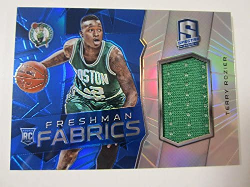 big sale ddcff ce092 Amazon.com: 2015 Panini Spectra Terry Rozier Game Used ...