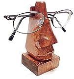 Golden Finish Wooden Novelty Eyeglass Holder Stand (LCK)