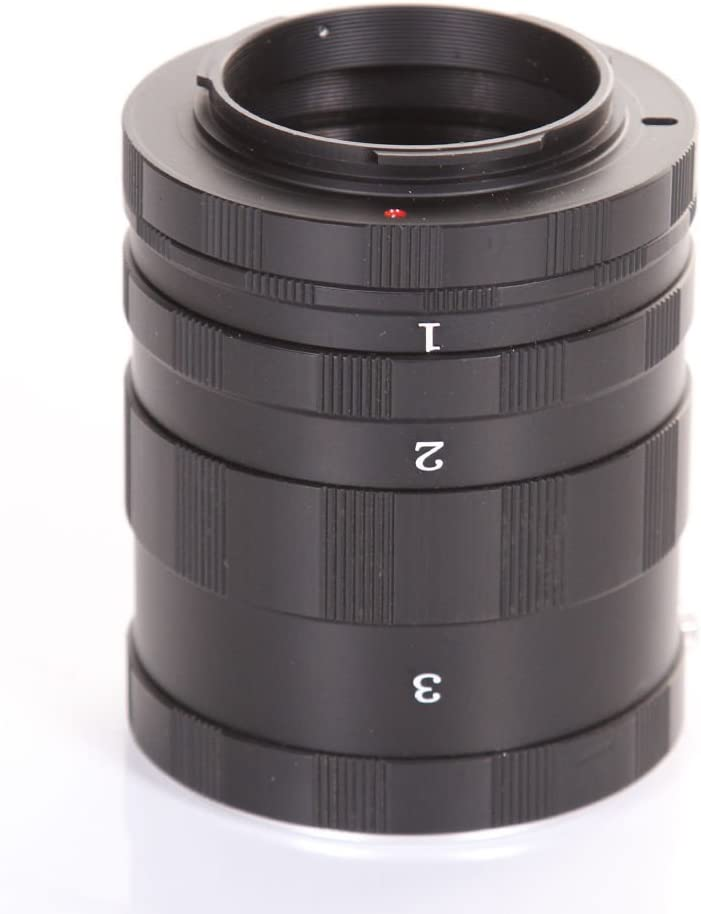 FocusFoto Macro Extension Tube Ring for OLYMPUS 4//3 E620 E600 E520 E510 E420 E450 E3 DSLR