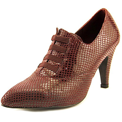 Bellini Dames Gisele Slip Op Textiel Mode Laarzen Wijn Slang
