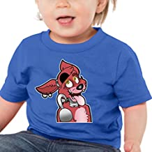 PubliciTeeZ FNAF Five Nights at Freddy's Foxy Juvy and Toddler T-Shirts