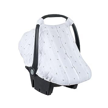 4a302aac96 Amazon.com   Bebe au Lait Premium Muslin Car Seat Cover