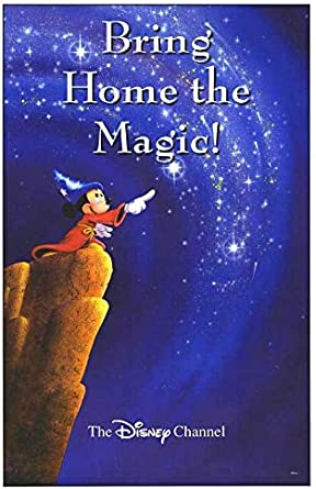 Disney Channel Fantasia Authentic Original 27x40 Rolled Movie Poster At Amazon S Entertainment Collectibles Store