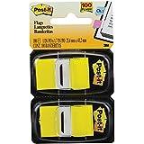 Marcador de Página Adesivo Flags 25,4 x 43,2mm 100 folhas Amarelo Post-it Amarelo