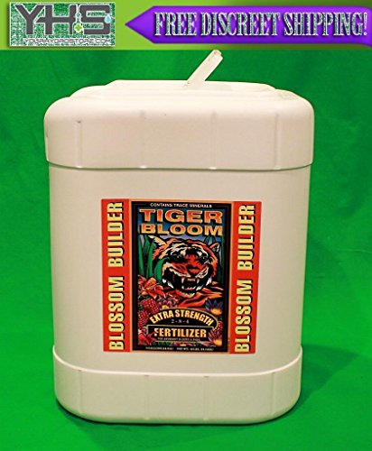 Fox Farm Tiger Bloom 5 Gallon - FoxFarm Fertilizer Nutrient 5G Gal blossom --P#EWT43 65234R3FA218711 by Lisongin