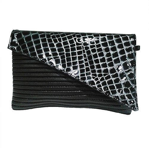 Borsa clutch, Mykonos Nera, in sympatex