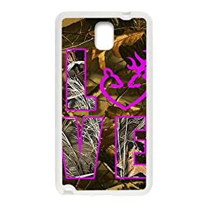 SKULL Browning LOVE Phone Case for Samsung Galaxy Note3