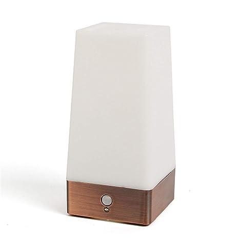 Asonter - Lámpara de mesa de doble control con sensor de ...