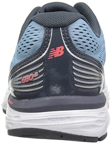 New Balance Blue Silver Running Shoes Light Pink Women W680v5 A7rxOAq