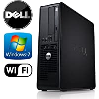 Dell Optiplex Wifi Pc Bundle - Intel Fast, Powerful & Efficient Core 2 Duo  3.1ghz - 1tb 7200 RPM HDD - New 8gb RAM - Windows 7 Professional 64-bit - Dual Video Output - Dvd-rw-(Certified Reconditioned)