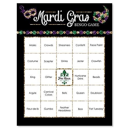 Mardis Gras Card - 5