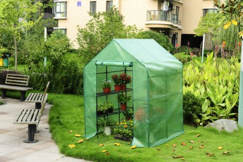 Portable Greenhouse For Patio : Portable lawn and garden greenhouse kit made with