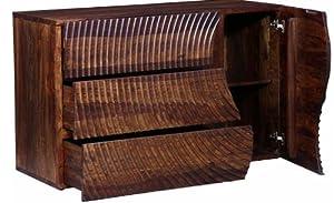 Shilpi Wooden Handmade Norman Style Big Size Drawers Wardrobe Provincial Teak Finishing Wooden Cabinet
