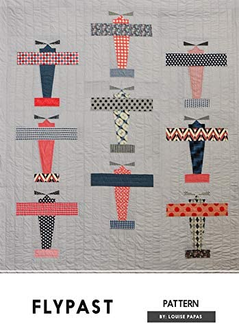 Flypast Jen Kingwell Designs Louise Papas Airplane Quilt Pattern