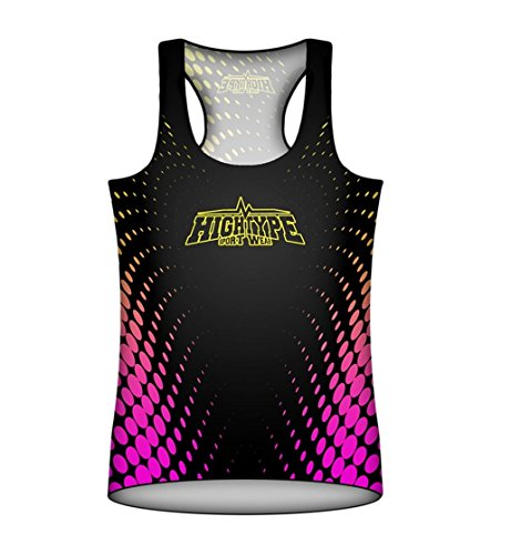 Womens Sports Tank Top. City Lights Dots. Ledacolor. High Type Sportwear MMA Fightwear. Training. Gym. Running. Compression Top. Femme. Fitness. Cycling. Casual Wear