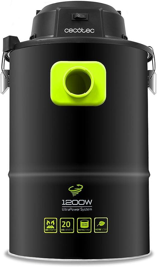 Cecotec Aspirador cenizas Conga PowerAsh 1200. Boquilla XXL, 3 ...