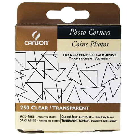 f Adhesive Photo Corners (500 Pack) (Canson Scrapbook)