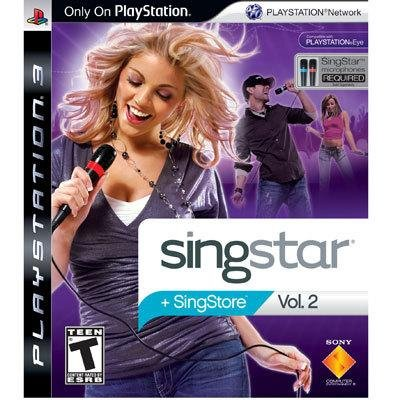 Sony Singstar Vol.2 Video Game for PS3 - 2