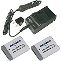 2x NB-13L NB13L Camera Batteries and 1x Home Travel Charger for Canon PowerShot G5 X G7X G7