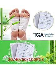 MKNIUA 20 stuks Clean Detox Foot Pad Kruiden Patch Detox Zelfklevende Fitness Gezondheid Verbeteren Slaap Schoonheid Slim