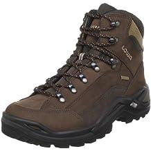 Lowa Mens Renegade Gore-TEX Mid Brown Brown Nubuck Boots 10.5 UK