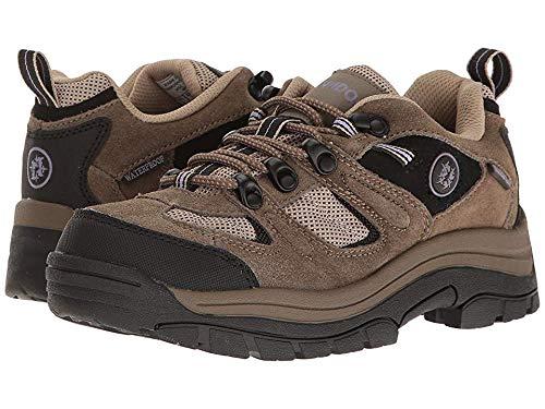 Nevados Women's Klondike Waterproof Low V4161W Hiking Boot,Dark Brown/Black/Taupe,9 M US