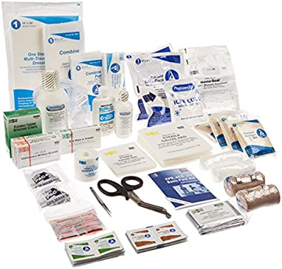 Pac-Kit by First Aid Only 3500/R 151 Piece EMS Bag with Expanded Refill Kit by Pac-Kit