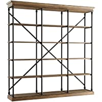 Weston Home Open Back Decorative Bookcase -