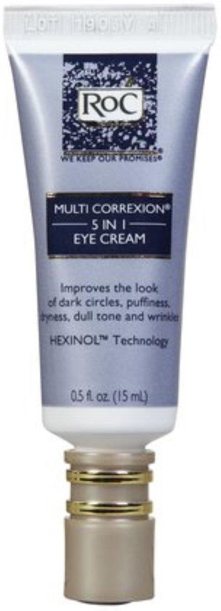 RoC Multi Correxion 5-in-1 Eye Cream, 0.5 oz (Pack of 2)