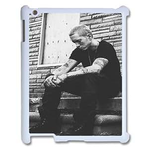wugdiy New Fashion Hard Back Cover Case for iPad2,3,4 with New Printed Eminem