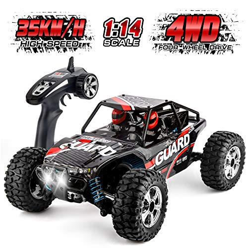 Remote Control Car High Speed RC Car Off-Road Vehicle 1:14 Scale 35km/h 4WD 2.4GHz Racing Car RC Buggy Truck Crawler Toys for 14 15 16 Years Boys Girls Adults by HISTORM (Rc Grade Hobby Buggy)